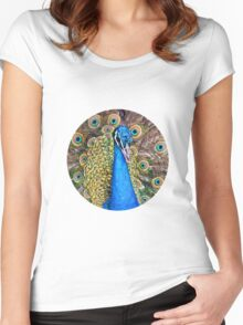 Mystic Peacock Women's Fitted Scoop T-Shirt