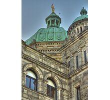 Parliament Buildings Victoria BC Canada Photographic Print