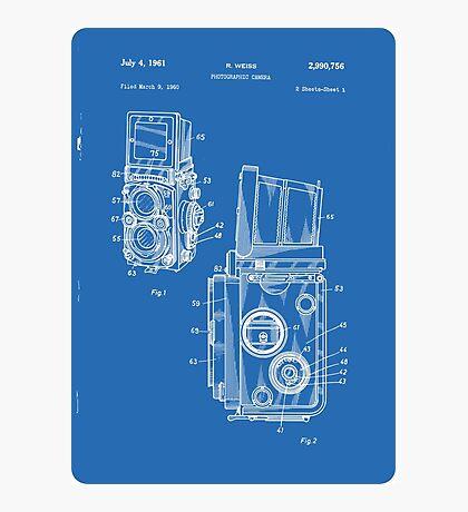 RolleiFlex 1961 patent Photographic Print