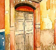 San Miguel Door by Laurenet