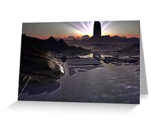 Dark Tower Dawn Greeting Card
