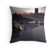 Dark Tower Dawn Throw Pillow