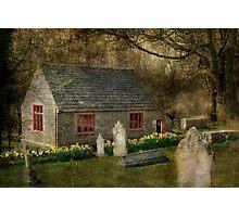 Tyneham Schoolhouse Photographic Print