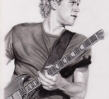 Niall On Stage by artbygina