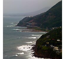 Sea Cliff Bridge from Stanwell Tops Photographic Print