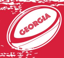Georgia Rugby World Cup Sticker