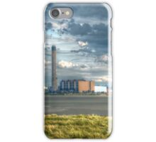 Powerful Sky Over Power Station #2 iPhone Case/Skin