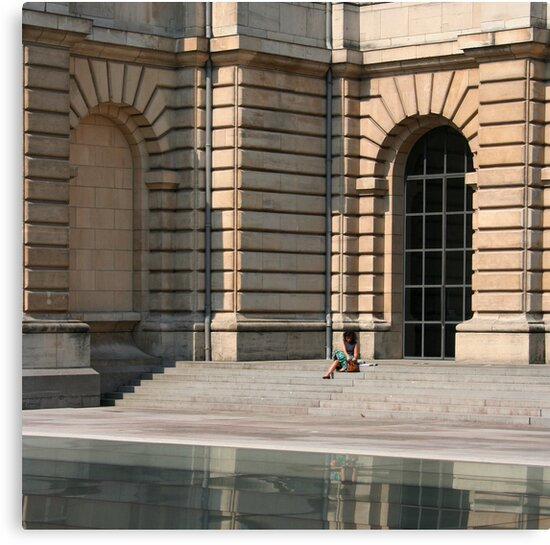 Lille, France - Reflective Lunch by Eric Strijbos
