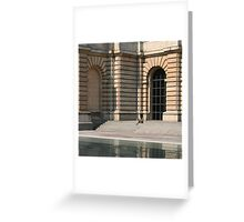 Lille, France - Reflective Lunch Greeting Card