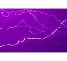 Mapping Purple #11 - NSW Photographic Print