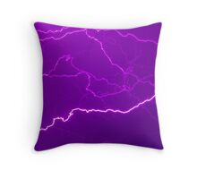 Mapping Purple #11 - NSW Throw Pillow