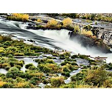 Sherar Falls Deschutes River Oregon Photographic Print