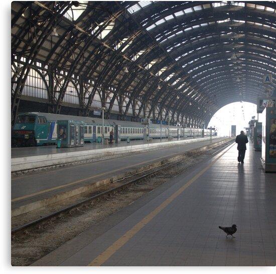 Milan - I Travel by Eric Strijbos