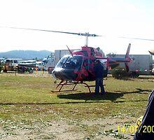 Bell JetRanger 206B-III, VH-JAK by Joe Hupp