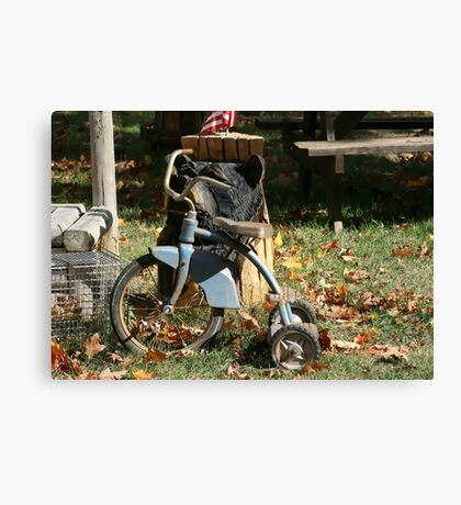 Old Tricycle Canvas Print