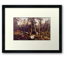 Matter of Course Framed Print