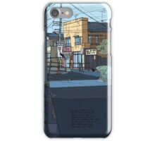 Laneway Crows iPhone Case/Skin