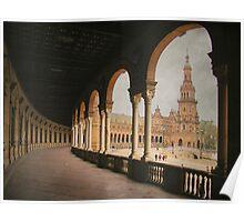 Plaza de España - Sevilla Poster