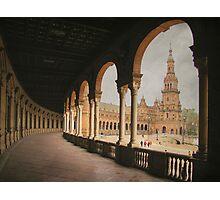 Plaza de España - Sevilla Photographic Print