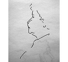 Sketch Book - Face Photographic Print