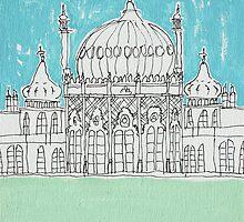 Brighton Pavillion by Adam Regester