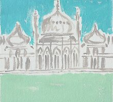 Brighton & Hove Illustrated by Adam Regester