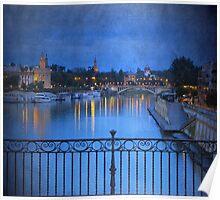 Blue Sevilla Poster