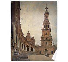 Sevilla - Plaza de España Poster