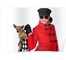 SVetlana And Dog Poster