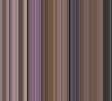 Moviebarcode: Singin' in the Rain (1952) [Simplified Colors] by moviebarcode
