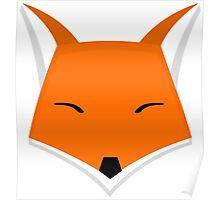 Vectorial Fox Poster