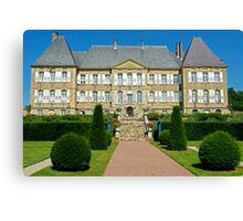 Chateau Dree, Burgundy, France Canvas Print