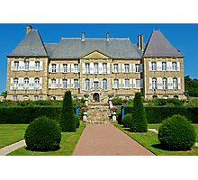 Chateau Dree, Burgundy, France Photographic Print
