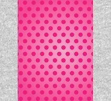 Polka Dot Pink Unisex T-Shirt