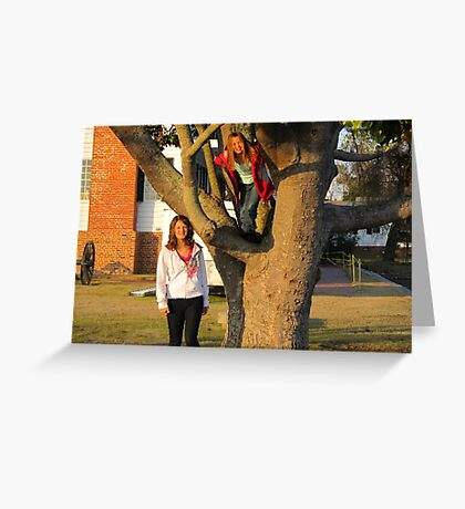 Trees are for climbing Greeting Card