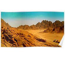 Egyptian Desert Heat Poster