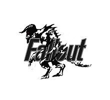 Fallout Deathclaw - Version 1 Photographic Print