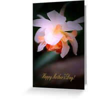 Happy Mother's Day card with daffodil Greeting Card