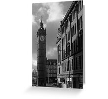 Glasgow streetscape 2 Greeting Card
