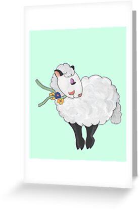 Ewe's not Fat, Ewe's Fluffy! by redqueenself