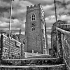 St.Mary Church,Kersey by Geoff Carpenter