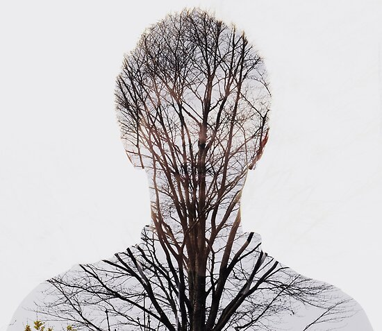 Double Exposure Josh/Trees by Vitanee Oliver