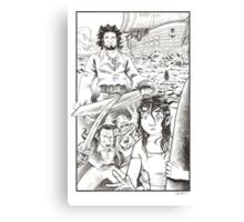 The Pirate Bride- Wizard World Austin Exclusive Canvas Print