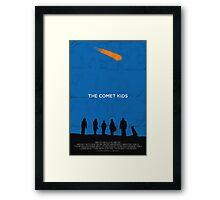 The Comet Kids - Poster Framed Print