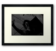 unknown man 5 Framed Print