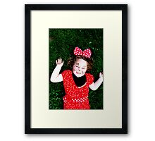 Minnie Smile Framed Print