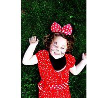 Minnie Smile Photographic Print
