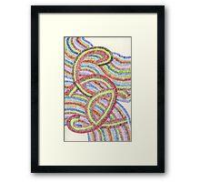2012-spring waves Framed Print