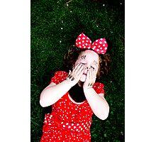 Minnie mood Photographic Print