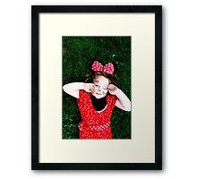 Minnie Love Framed Print